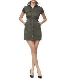 Good American Military Mini Dress Women - Bloomingdale s at Bloomingdales