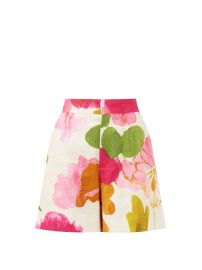 Good Butt floral cotton-stretch shorts at Matches