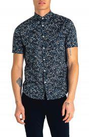 Good Man Brand Slim Fit Kensington Floral Print Shirt   Nordstrom at Nordstrom