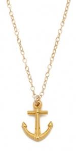 Gorjana anchor necklace at Shopbop