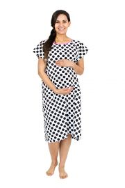 Gownies - Labor  amp  Delivery Maternity Hospital Gown by Baby Be Mine Maternity  Hospital Bag Must Have  Best Baby Shower Gift at Amazon
