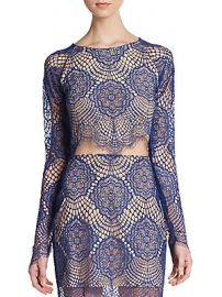 Grace Crop Top by For Love and Lemons at Saks Off 5th