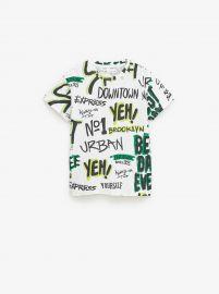Graffiti T-shirt by Zara at Zara
