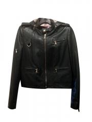 Graham Leather Jacket at Alice + Olivia