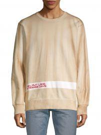 Graphic Stretch-Cotton Sweatshirt at Saks Fifth Avenue