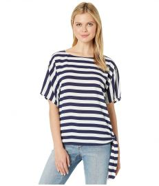 Graphic Stripe Side-Tie Tee at Zappos