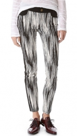 Graphic stripe pants by Derek Lam at Shopbop