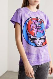 Grateful Dead distressed printed cotton-jersey T-shirt at Net A Porter