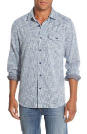 GrayersTrim Fit Double Face Sport Shirt at Nordstrom