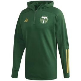Green Portland Timbers 2020 Travel Quarter-Zip Hoodie Jacket at Kohls