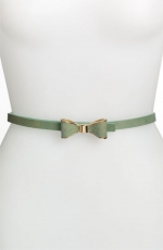 Green bow belt on Switched at Birth at Nordstrom
