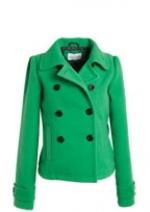 Green coat from Delias at Delias