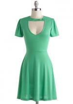 Green cutout dress at Modcloth at Modcloth