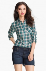 Green plaid shirt at Nordstrom at Nordstrom