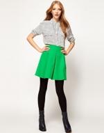 Green skirt at ASOS at Asos