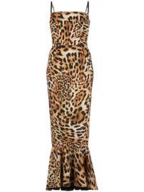 Greta Constantine Leopard Print Midi Dress - Farfetch at Farfetch