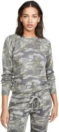 Grey Camo Raglan Sweatshirt at Amazon