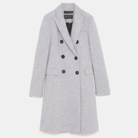 Grey Coat at Zara