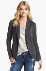Grey blazer by Olivia Moon at Nordstrom