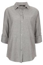 Grey chambray shirt like Spencers at Topshop