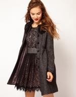 Grey coat like Robins at Asos