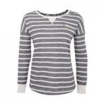 Grey faded stripe sweatshirt like Rachels at Newlook
