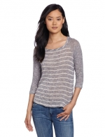 Grey striped tee by Splendid at Amazon