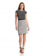 Grey tweed dress by Rebecca Taylor at Amazon at Amazon