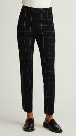 Grid Plaid Slim Ankle Pant at Argent