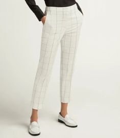 Grid Plaid Tailored Trouser by Argent at Argent