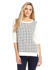 Grid Sweater by Chaus at Amazon
