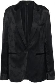 Grinson satin-jacquard blazer at The Outnet