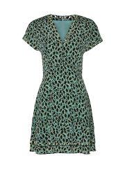 Grommet Detail V-Neck Dress by Derek Lam 10 Crosby at Rent The Runway