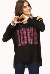 Grunge Girl Love Sweater at Forever 21