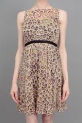 Gryphon Leopard Print Dress at Madison LA