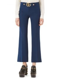 Gucci - GG-Detail Flare Pants at Saks Fifth Avenue