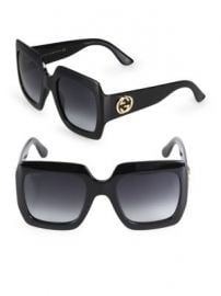Gucci - 54MM Oversized Square Sunglasses at Saks Fifth Avenue