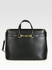 Gucci - Bright Bit Large Leather Tote at Saks Fifth Avenue