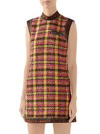 Gucci - Candy Sleeveless Tweed Mini Dress at Saks Fifth Avenue