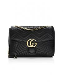 Gucci - GG Marmont Large Shoulder Bag at Saks Fifth Avenue
