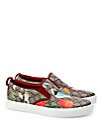 Gucci - GG Supreme Tian Print Slip-On Sneakers at Saks Fifth Avenue