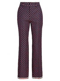 Gucci - Geometric G Iconic Boot Cut Trousers at Saks Fifth Avenue