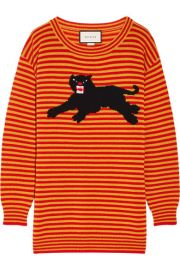Gucci - Intarsia wool sweater at Net A Porter