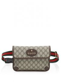 Gucci - Neo Vintage Canvas Belt Bag at Saks Fifth Avenue