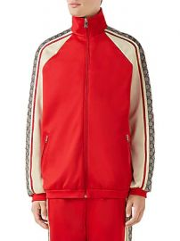 Gucci - Oversize Technical Jersey Jacket at Saks Fifth Avenue