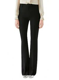 Gucci - Stretch Cady Flare Pants at Saks Fifth Avenue