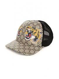 Gucci - Tiger Baseball Cap at Saks Fifth Avenue