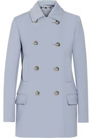 Gucci   Wool-crepe coat at Net A Porter