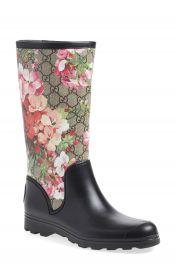 Gucci  Prato - GG Blooms  Rain Boot  Women at Nordstrom