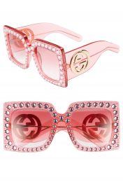 Gucci 57mm Square Sunglasses at Nordstrom